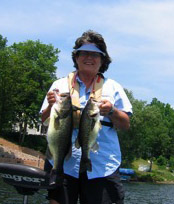 Melody - Finger Lake Fishing Guide and Charter Services for Women